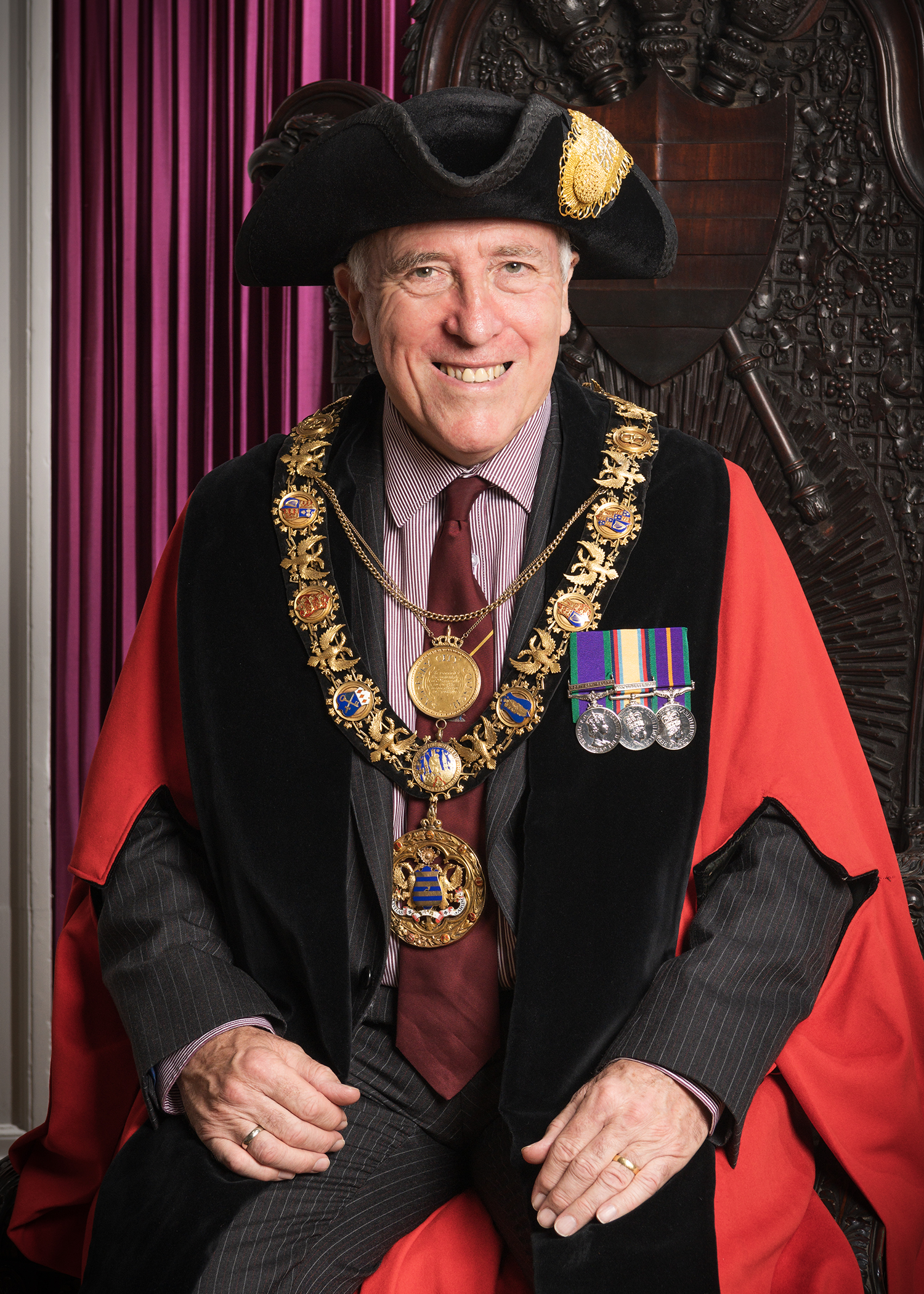 The Mayor of Salisbury 2019 2020 Cllr John Walsh