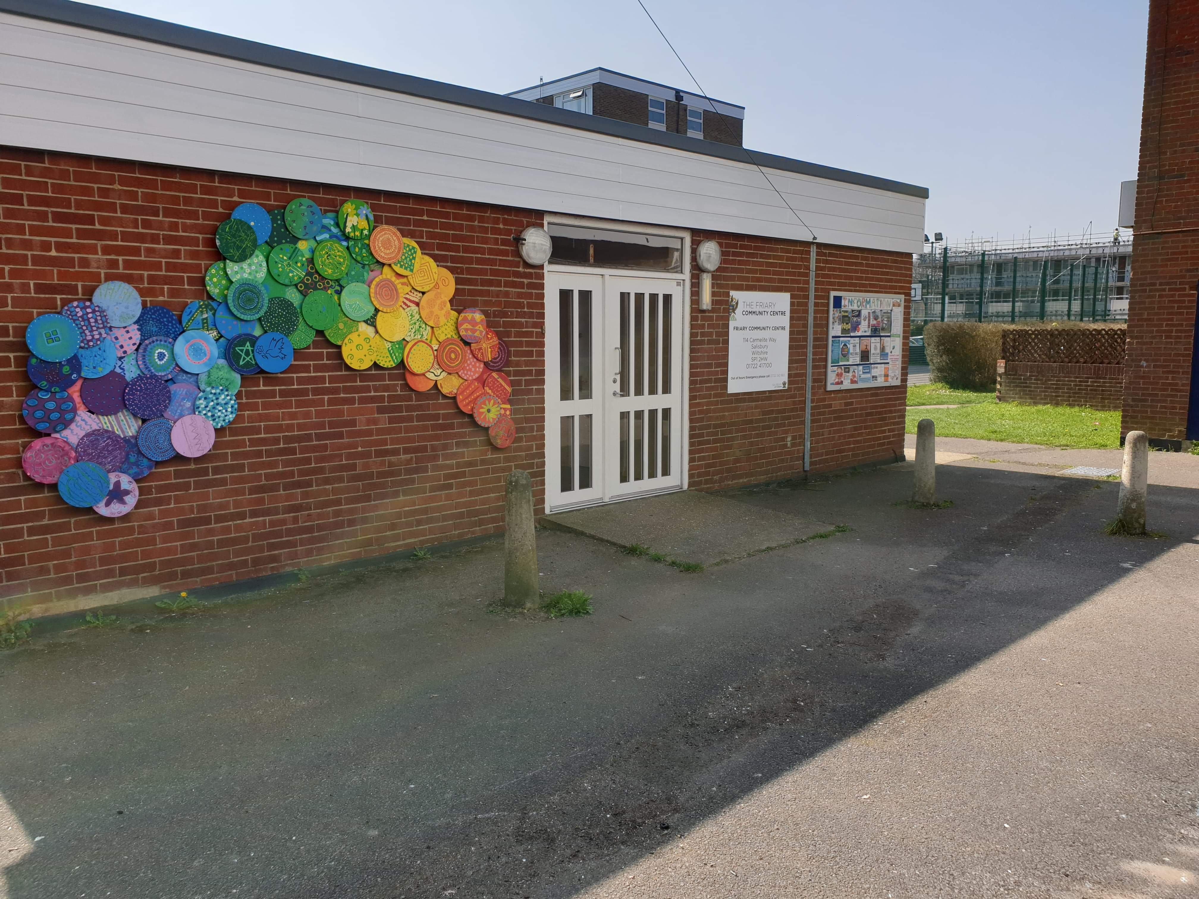 friary community centre front
